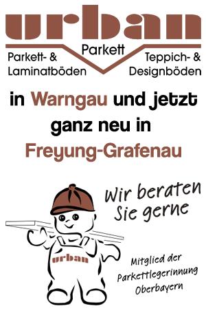 Parkett Urban, der Bodenleger in Warngau und jetzt auch noch in Freyung-Grafenau