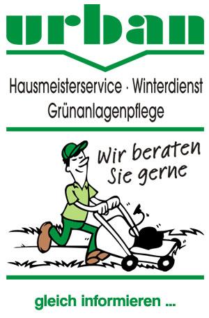 Urban Hausmeisterservice  - Der Dienstleistungsservice für München, Miesbach, Holzkirchen, Wolfratshausen, Rosenheim bis Passau und Freyung-Grafenau.
